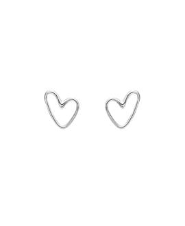 TRUE LOVE|Ohrstecker Silber