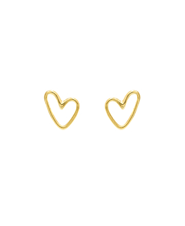 TRUE LOVE|Ohrstecker Gold