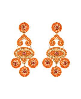 ORANGE BLAZE|Ohrschmuck