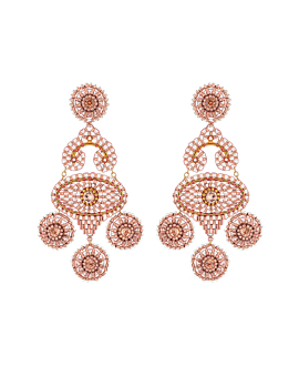 PRETTY IN BLUSH  Ohrschmuck Gold
