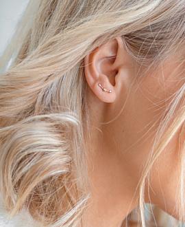 NIGHTSKY Ear Climber Rosé