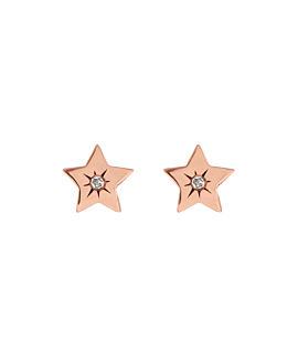 TINY STAR  Ohrstecker Rosé