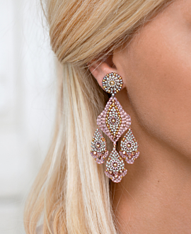 SOFT BLUSH  EARRINGS