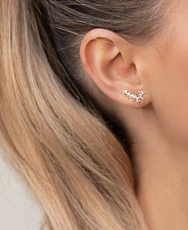 SPLENDOR  EAR STUDS ROSE