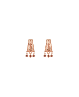 VERVE EARRINGS ROSE