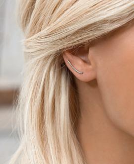 Ear Cimber Single Silber