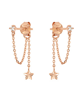 RADIANT STAR|Ear Jackets Rosé