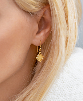 ISPAHAN EARRINGS VERMEIL
