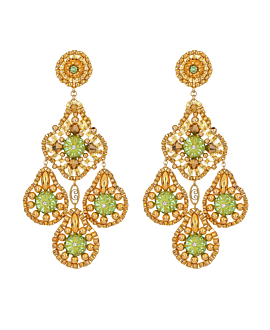 GOLDEN GLOW  EARRINGS