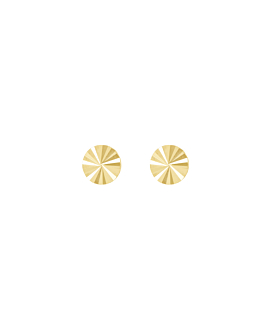 RADIANT CIRCLE|Stecker 14K Gold