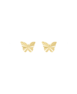 RADIANT BUTTERFLY|Stecker 14K Gold