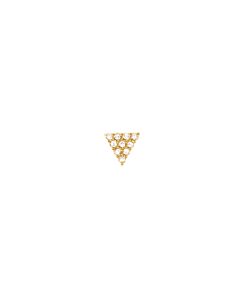 DIAMOND Ohrstecker|Single 14K Gold