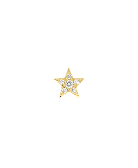 DIAMOND Ohrstecker  Single 14K Gold