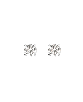 DIAMOND Ohrstecker|14K Weißgold