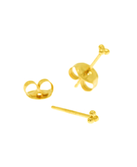 EAR STUDS SINGLE 14K GOLD