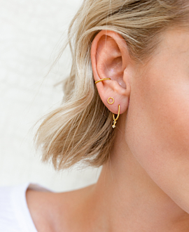 Ear Cuff Single  14K Gold