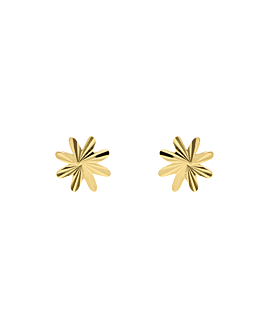 DAISY  EAR STUDS GOLD
