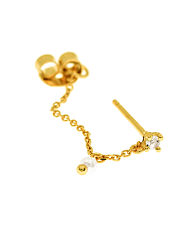 Ear Jacket Single Gold