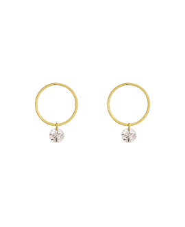 DIAMOND Ohrstecker|18K Gelbgold