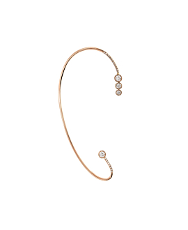 DIAMOND Ear Cuff|Single 14K Roségold