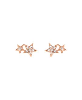 STARS  Ohrstecker Rosé