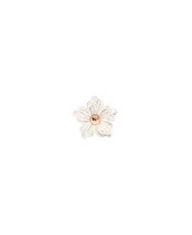 PEONY Ohrstecker|Single Weiß