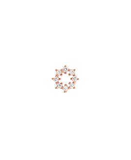 TOPAZ Ohrstecker|Single Rosé