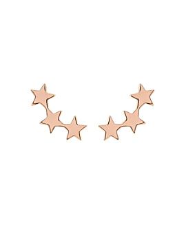 STAR|Ohrschmuck Rosé