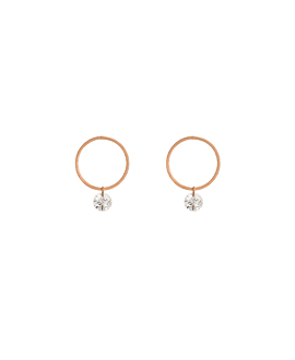 DIAMOND Ohrstecker|18K Roségold