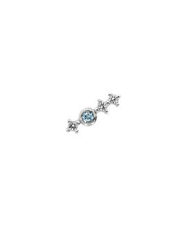 BLUE SPARK  Ohrstecker Silber