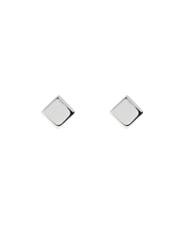 SQUARE  Ohrstecker Silber