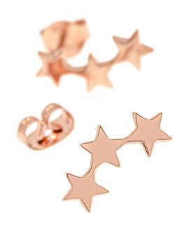 STAR  Ohrschmuck Rosé
