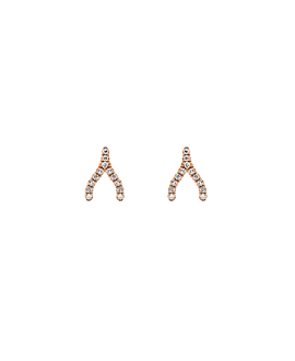 DIAMOND Ohrstecker|14K Roségold