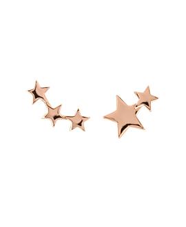 LUMINOUS STARS EAR STUDS ROSE