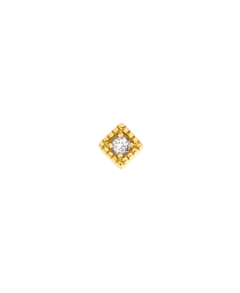 TOPAZ Ohrstecker  Single Gold
