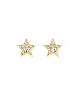 STAR Ohrstecker Gold