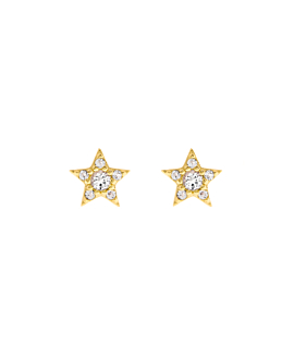 STAR EAR STUDS GOLD