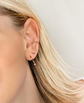 PASTEL Ear Cuff  Single Rosé