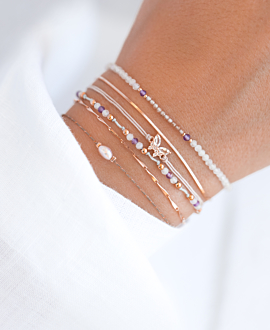 PEARL  Armband Taupe