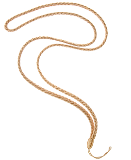 Phone Strap  Textil Gold