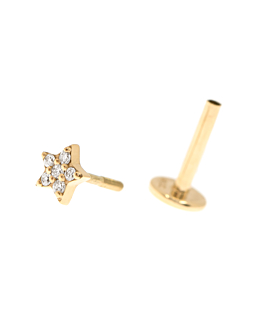 PIERCING Single  14K Gold