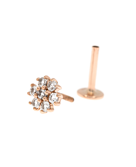 PIERCING SINGLE 14K ROSE GOLD