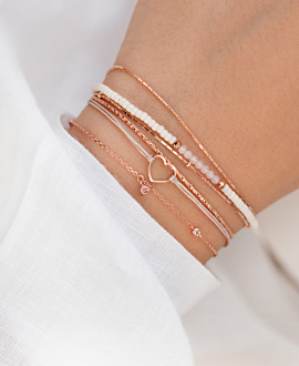 PINK AFFINITY  Armband Rosé