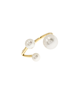TRIANT PEARL Ring 10K Gold