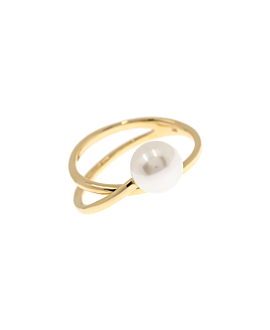 SOLE PEARLS RING 10K GOLD