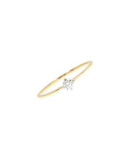 SOLITAIRE Ring|14K Gold