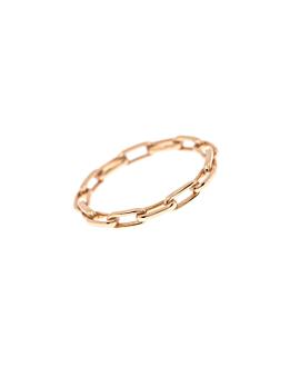 LINK Ring|14K Roségold