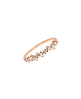 DIAMOND Ring|14K Roségold