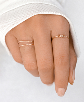 Ring 14K Roségold