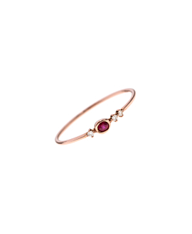 RUBY Ring|14K Roségold